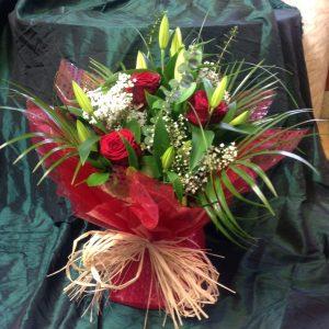 rose and lily aqua